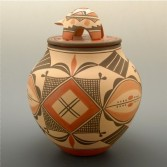 Medina, Elizabeth – Traditional Jar with Turtle Lid