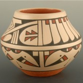 Fender, Erik – Polychrome Bowl with Feather Pattern