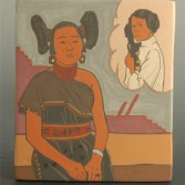 "Garcia, Jason – ""Hopi Princess"" Small Tile"