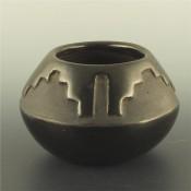 Gutierrez, Faustina – Carved Bowl Rain Cloud Designs
