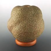 """Zane Smith, Jamie – """"Dogwood Burl"""" Melon Seedpot"""